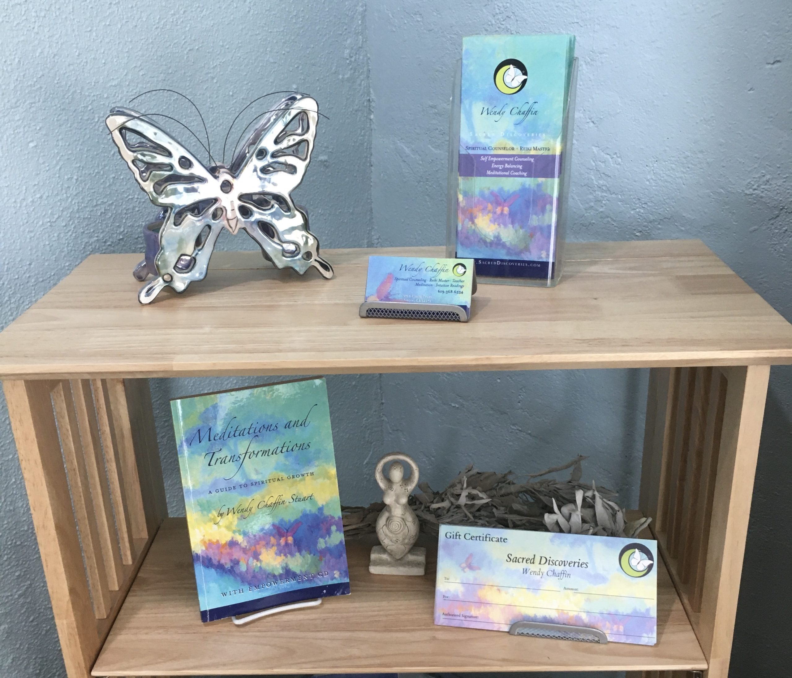 Spiritual Counseling and Training at Sacred Discoveries